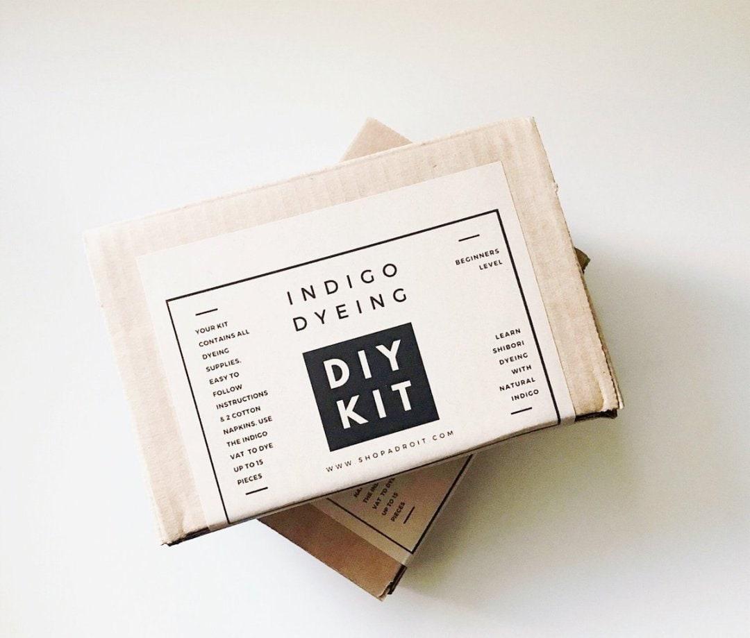 A DIY indigo dye kit from Adroit