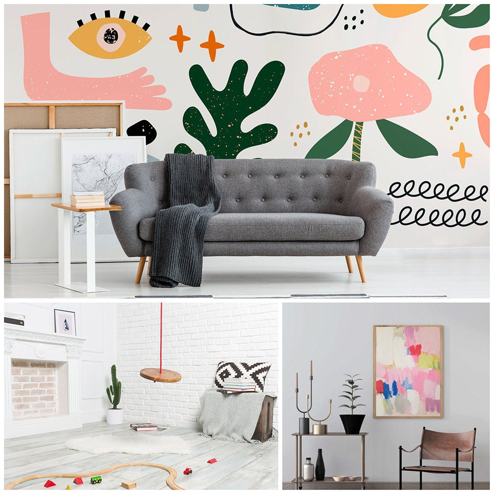 A collage of playful finds for the home