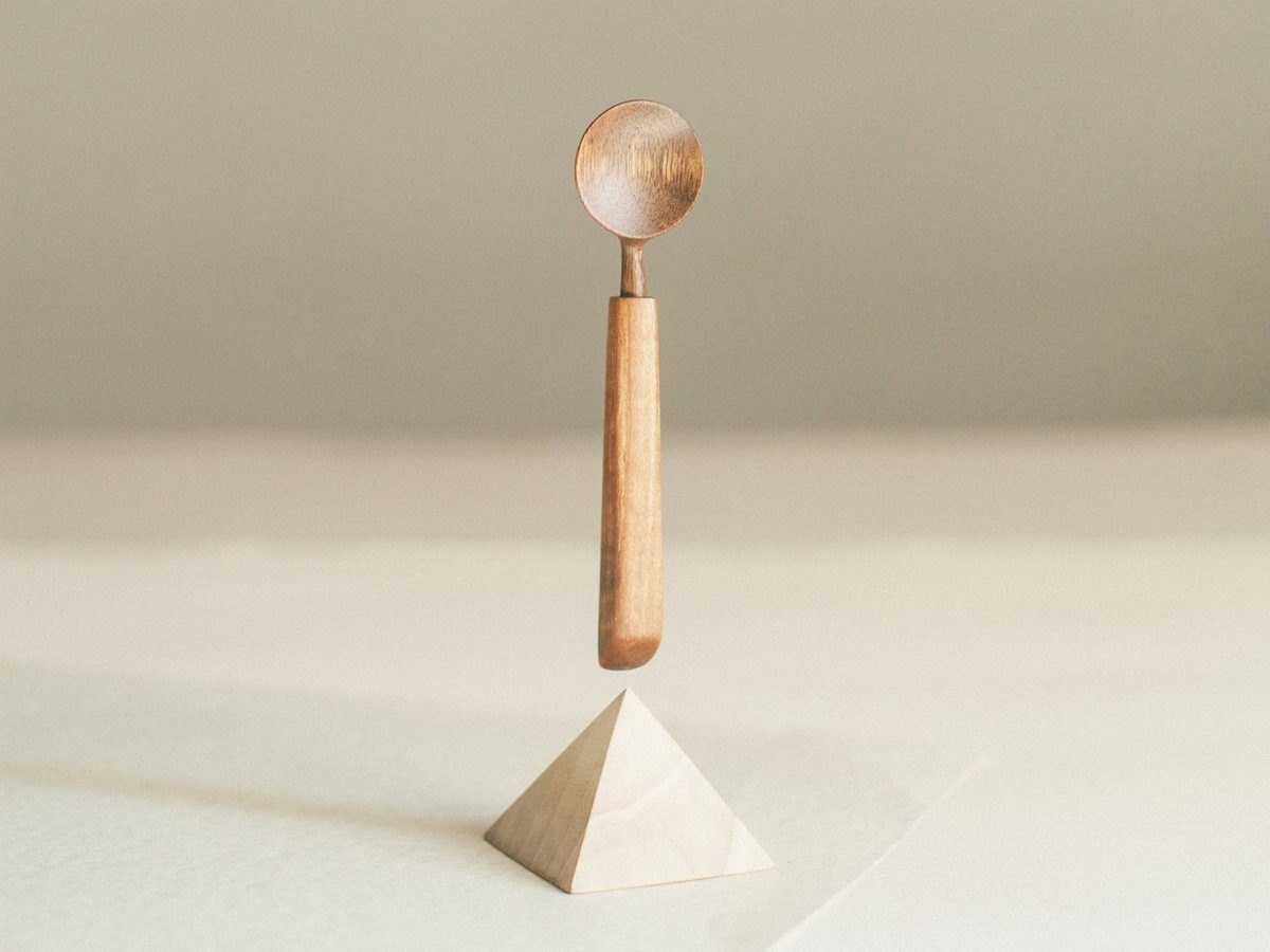 handmade wood spoon