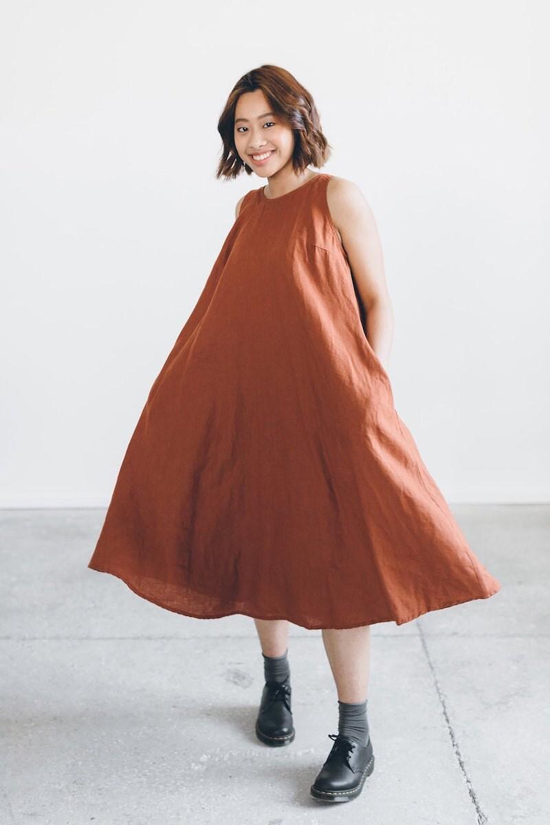 Linen tunic dress from Linenfox