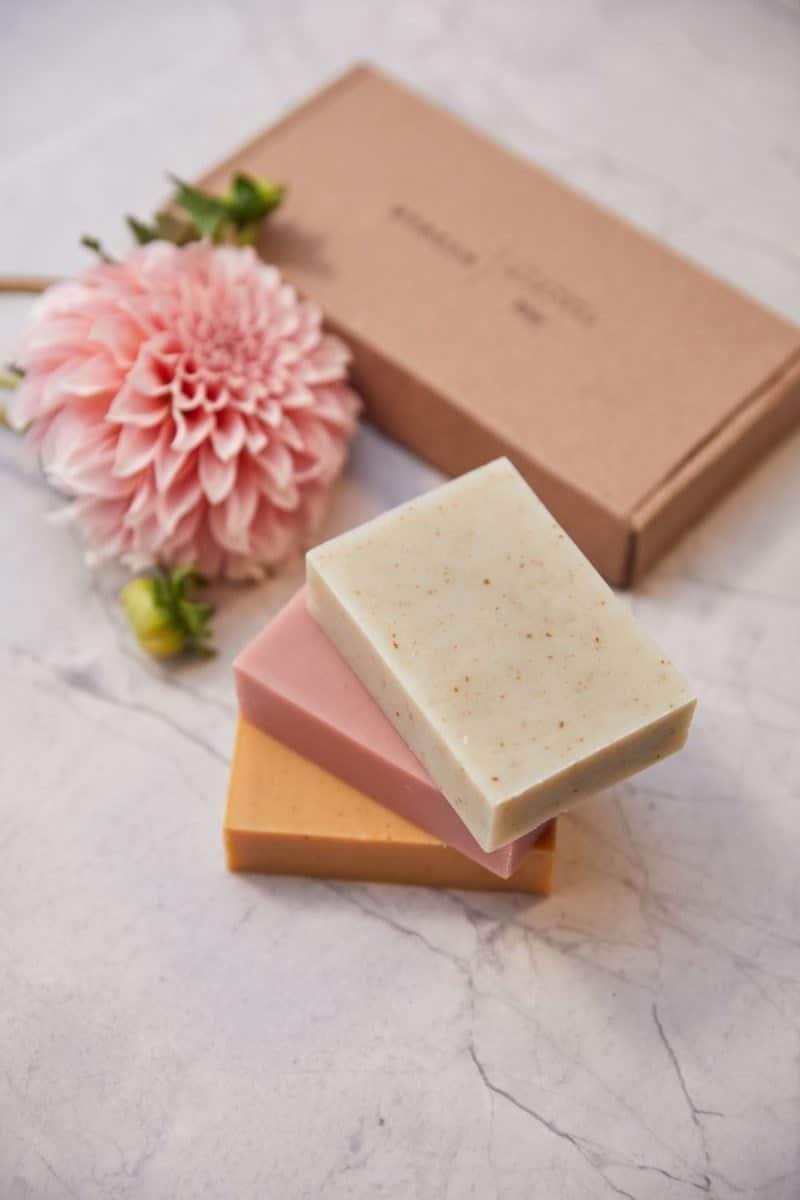 Botanical soap set from RFRESH