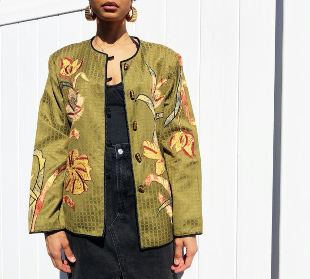 A vintage patchwork jacket from Threads of Habit