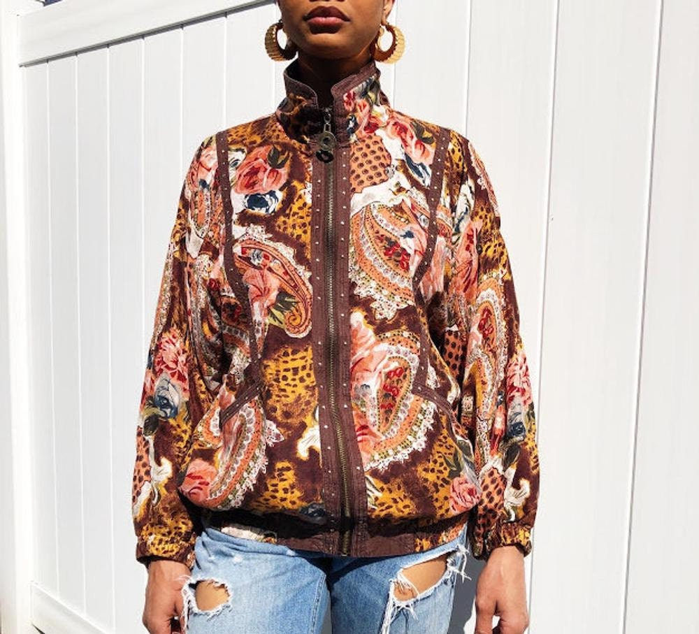A vintage paisley windbreaker from Threads of Habit