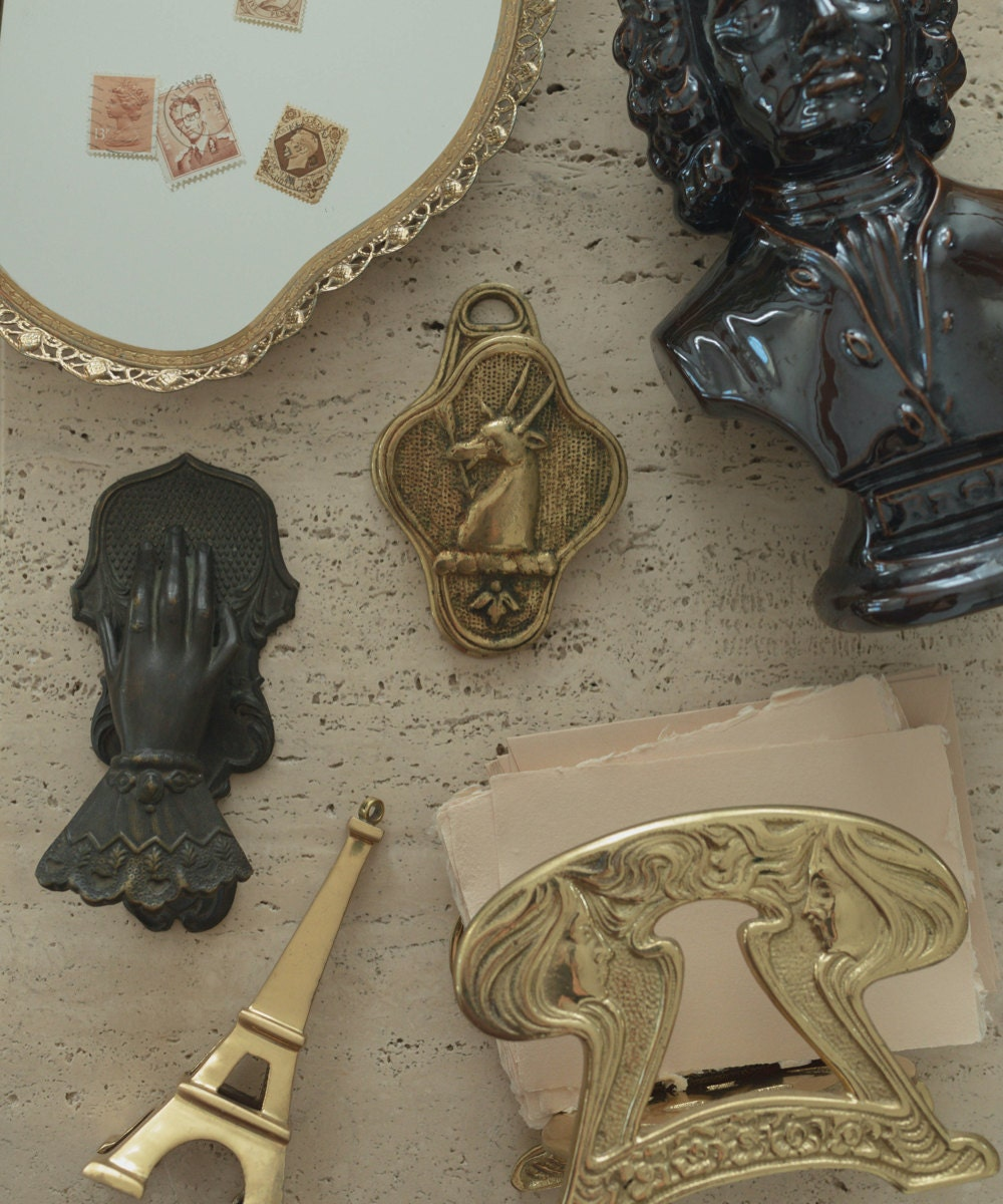 A collection of vintage objects from Otherwise Shoppe.
