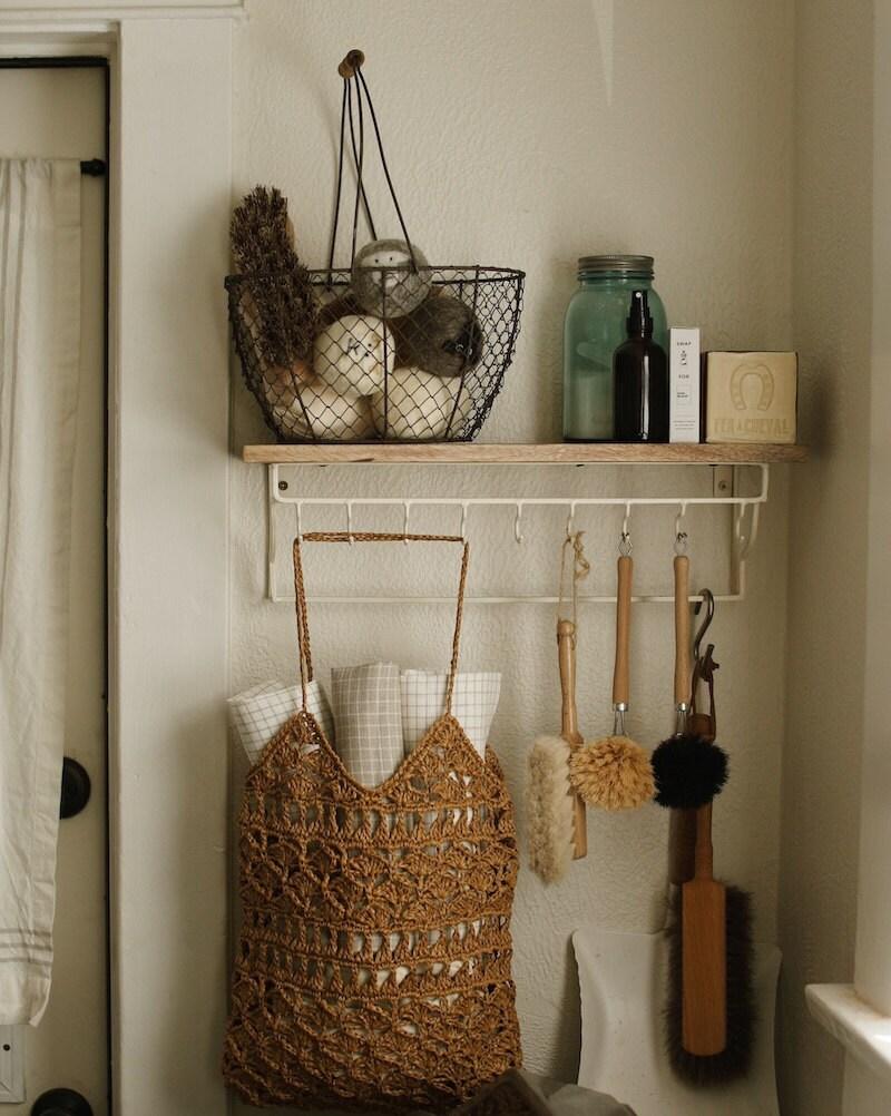 A pretty corner of Courtney's kitchen