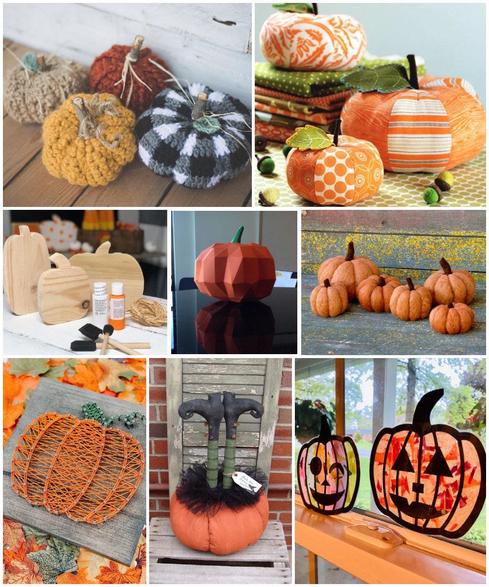 DIY pumpkin ideas for Halloween, from Etsy