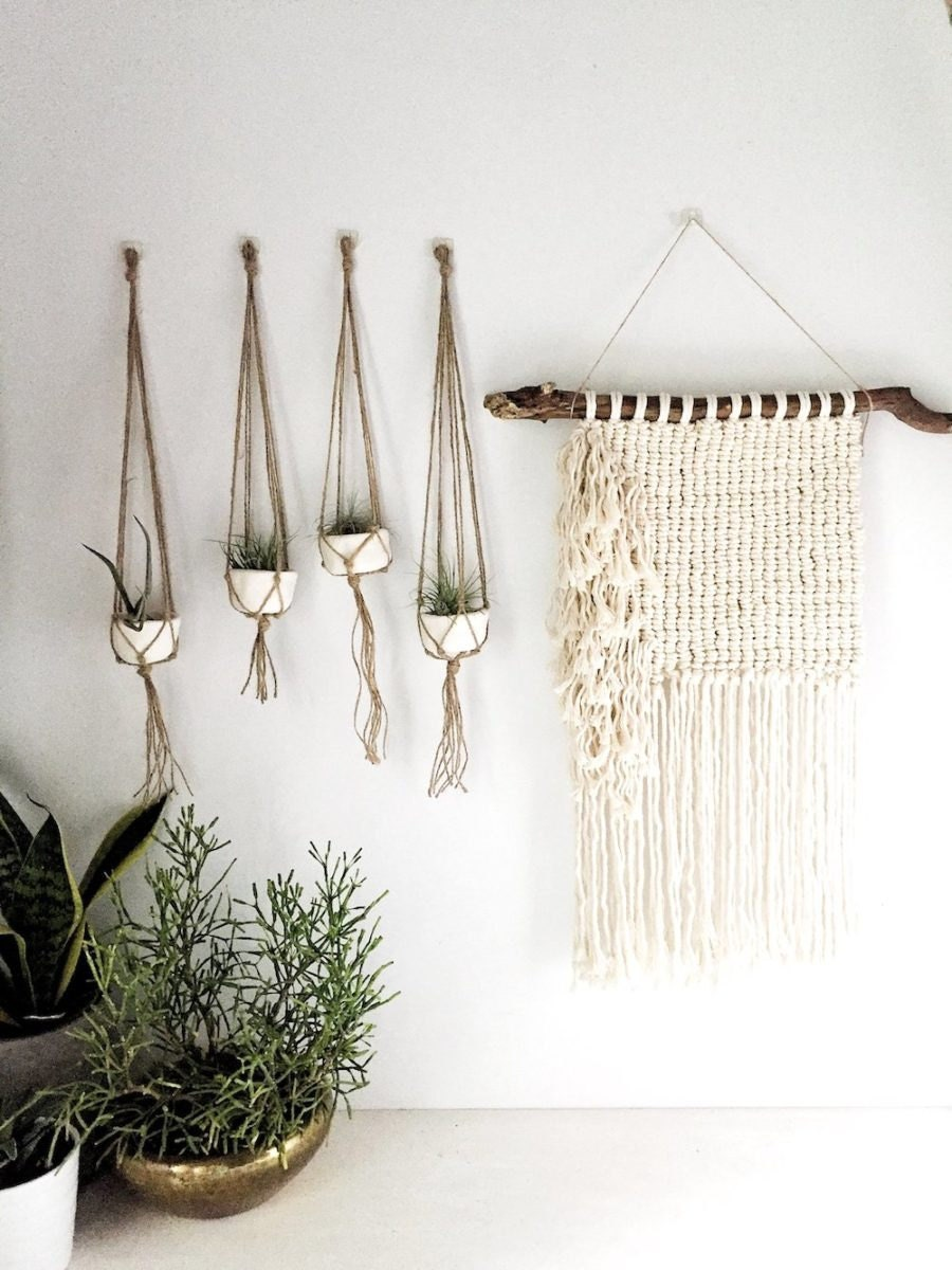 Completed macrame works for sale