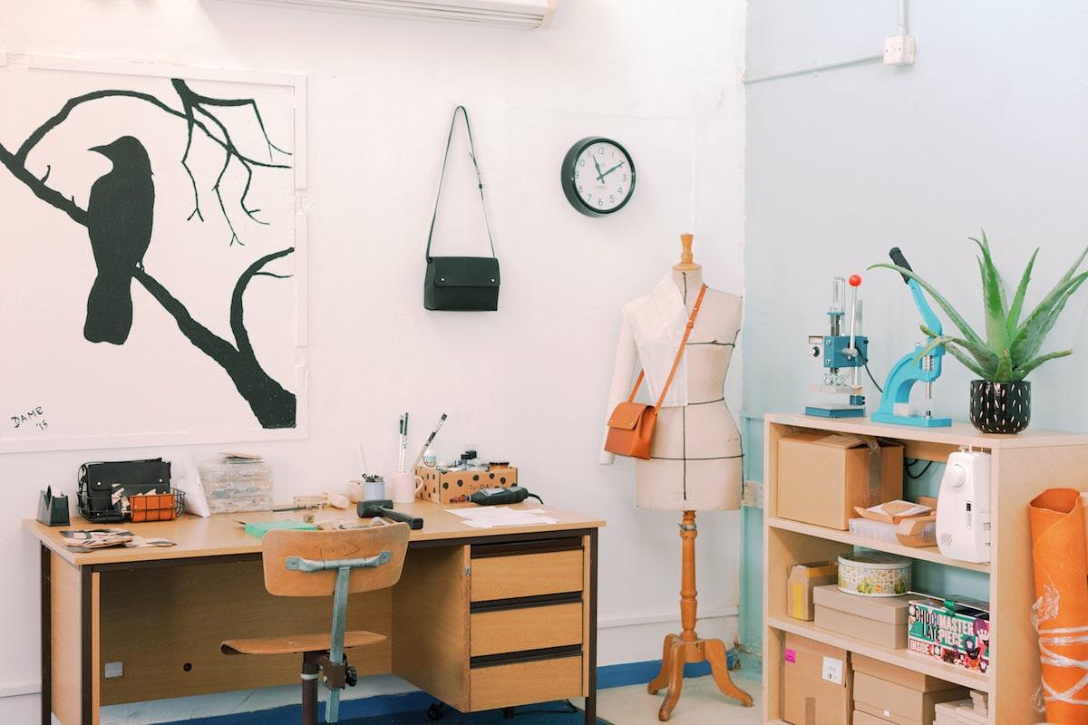 Jessica Gomez's Bristol studio