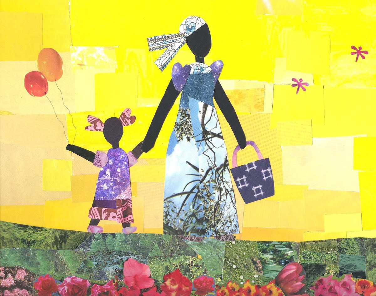 """""""Yellow Sky and Balloons"""" print from Mirlande"""