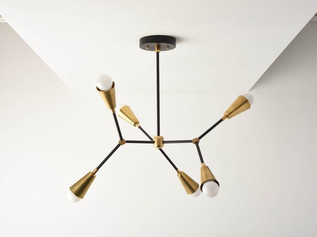 modern chandelier from Illuminate Vintage