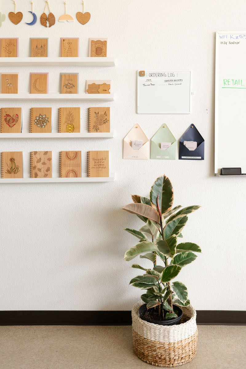 A sunny corner of Hereafter's Los Angeles studio