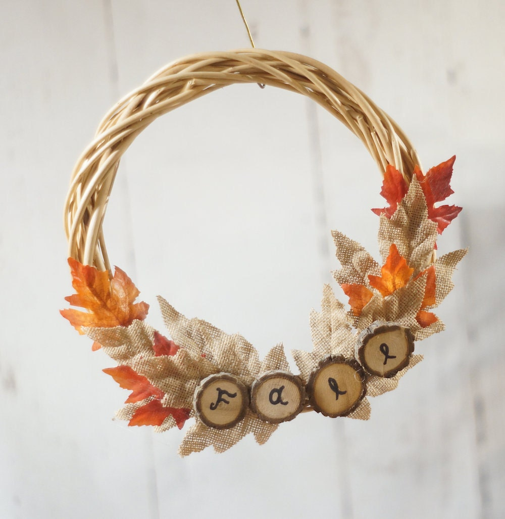 Fall wreath from GFT Woodcraft