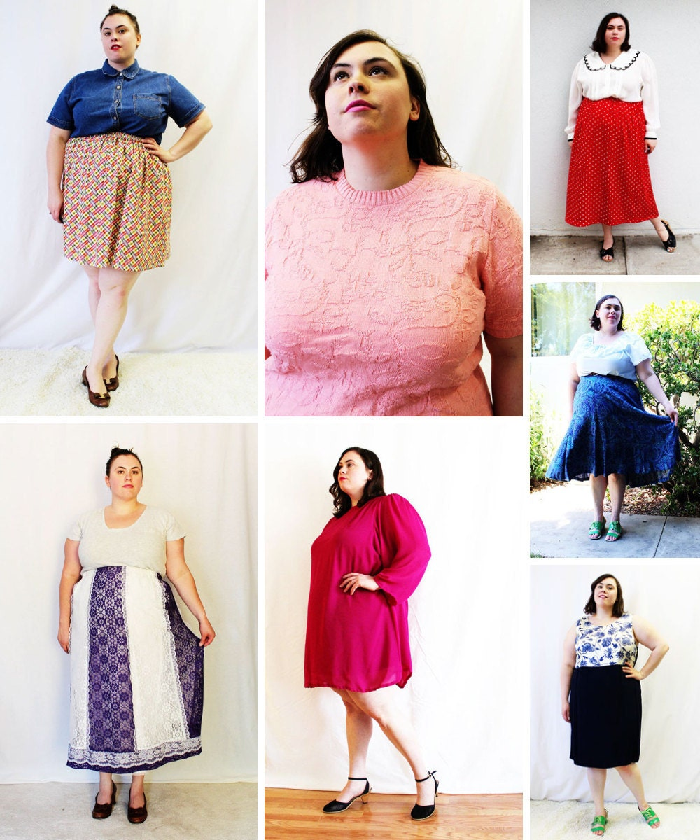 Plus-size vintage clothing from The Curvy Elle