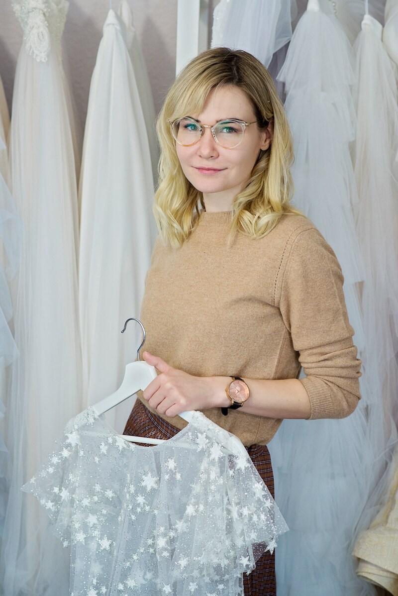 Wardrobe by Dulcinea founder and designer Inge Stalyte