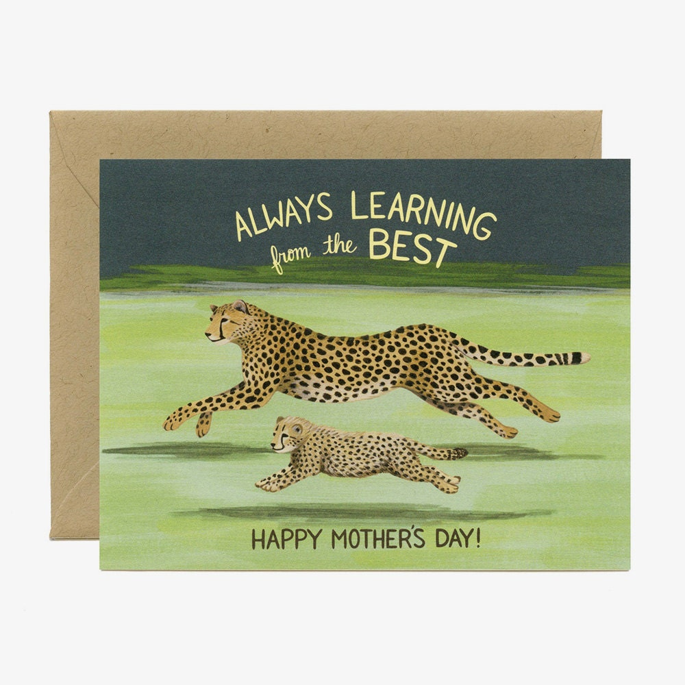 A unique Mother's Day card for a mom who teaches you things