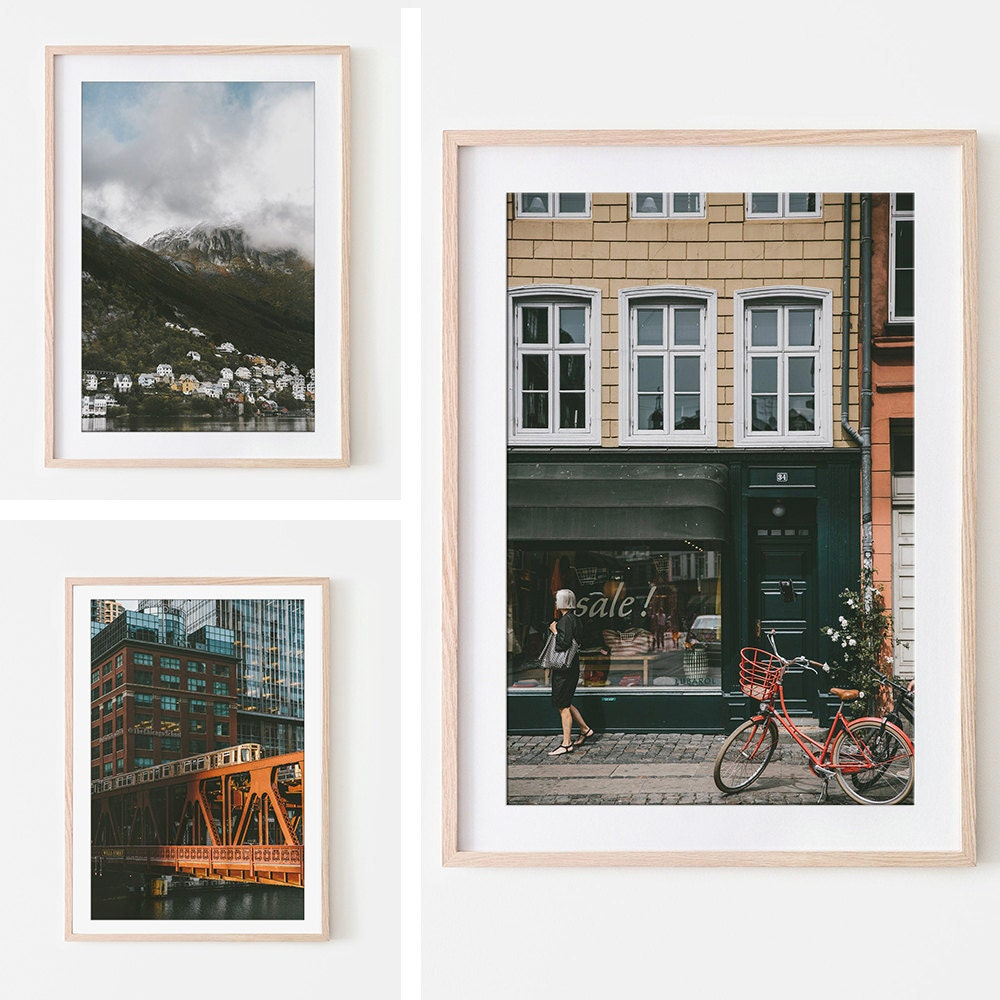 Assorted travel prints from MO Photography Prints