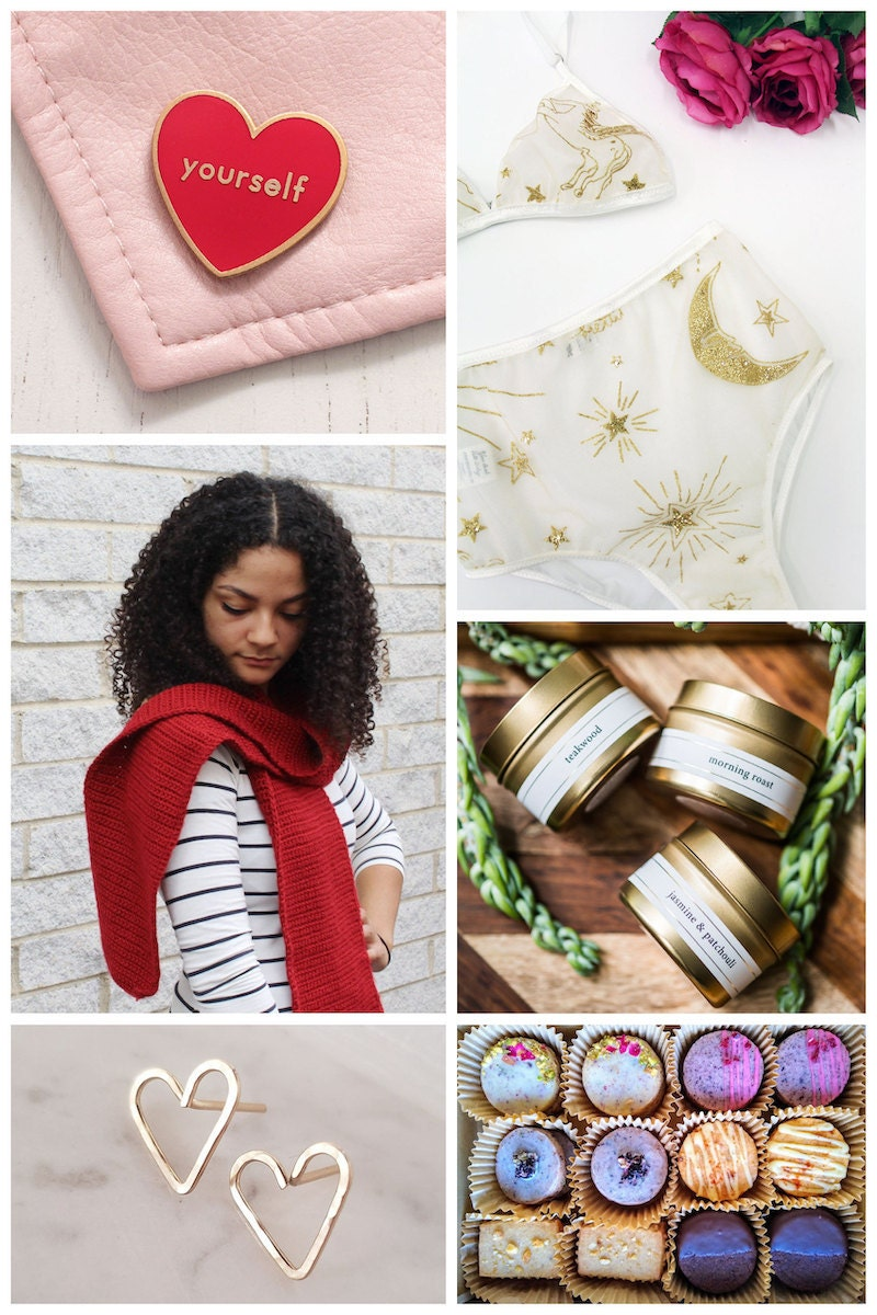 Self-love Valentine's Day gifts from Etsy