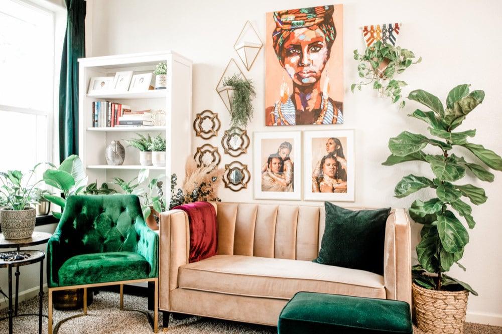 Casey Alberti's home studio in Washington state.