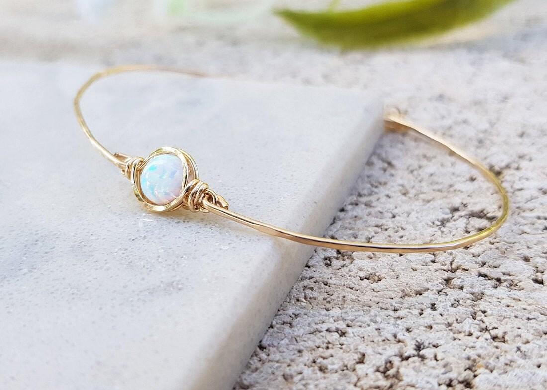 Opal bracelet from Talyana Design