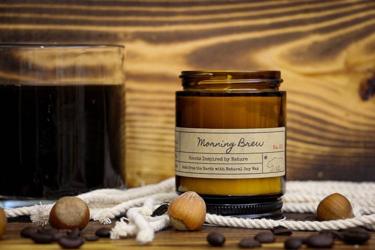 Morning Brew Candle from Hazel Candle Co. on Etsy