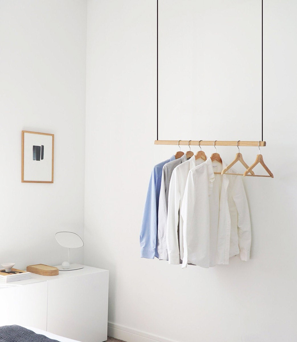Clothing storage from Etsy