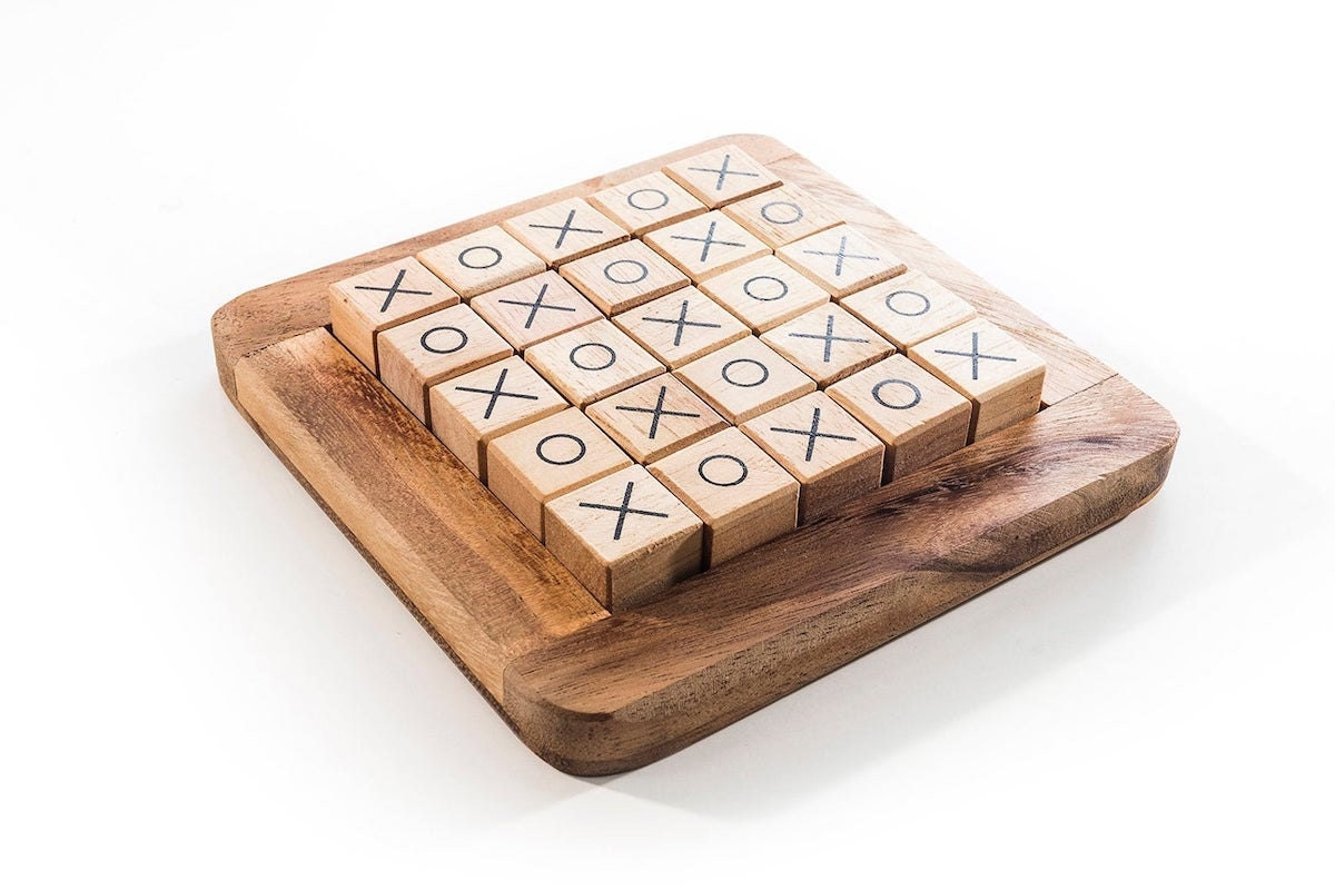Wood board game from Kubiya Games and more of the best dad gifts on Etsy