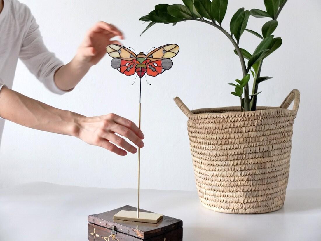 Mini stained-glass bug suncatcher from Elena Zaycman