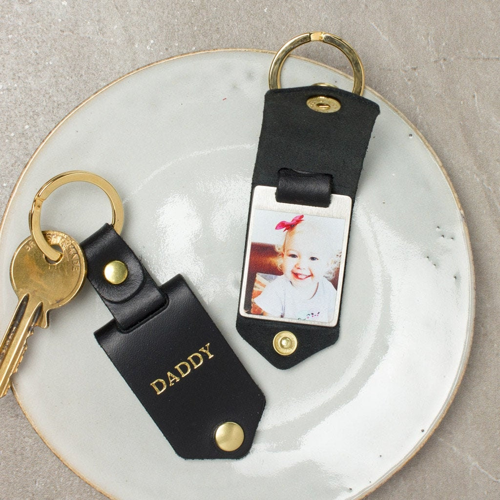 Personalized photo keychain from Create Gift Love