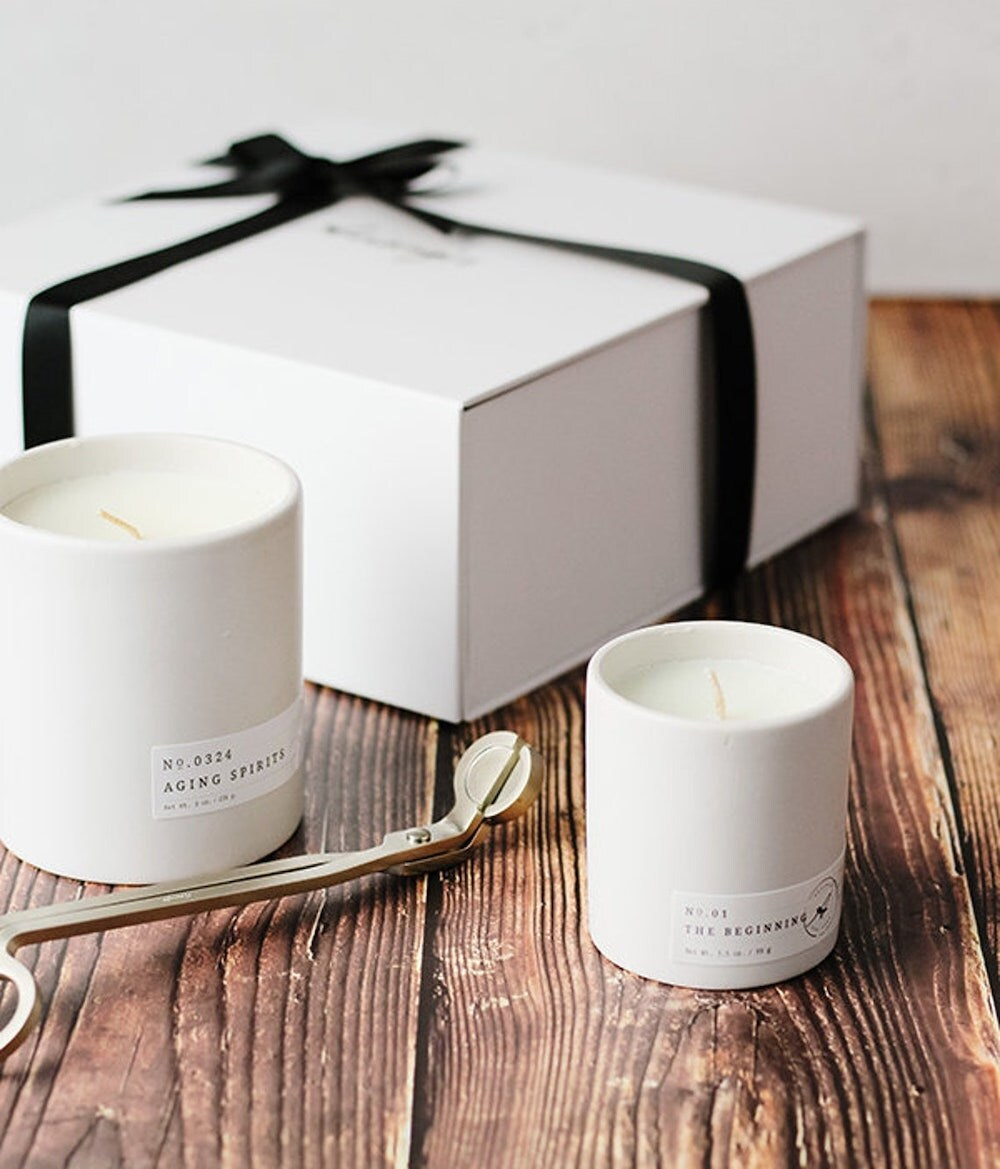 A candle gift set from Aerangis on Etsy.