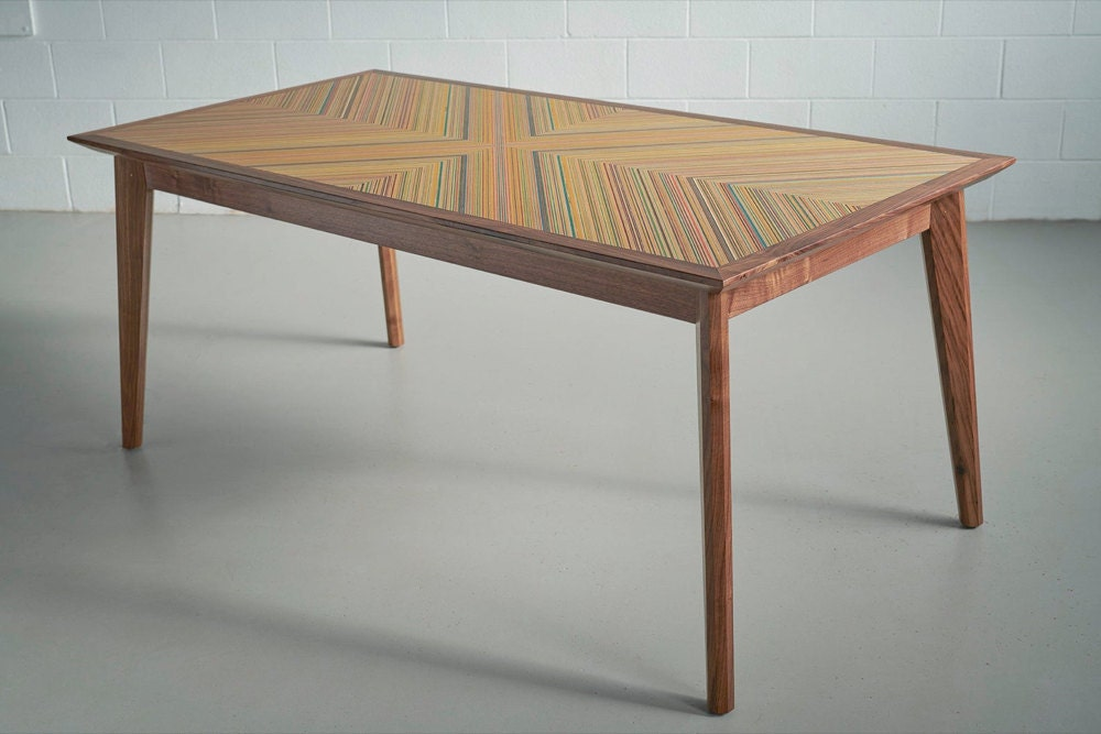 An XY dining table from AdrianMartinus