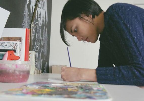etsyfeaturedshop-quillandfox-handmadecards-papergoods-drawing