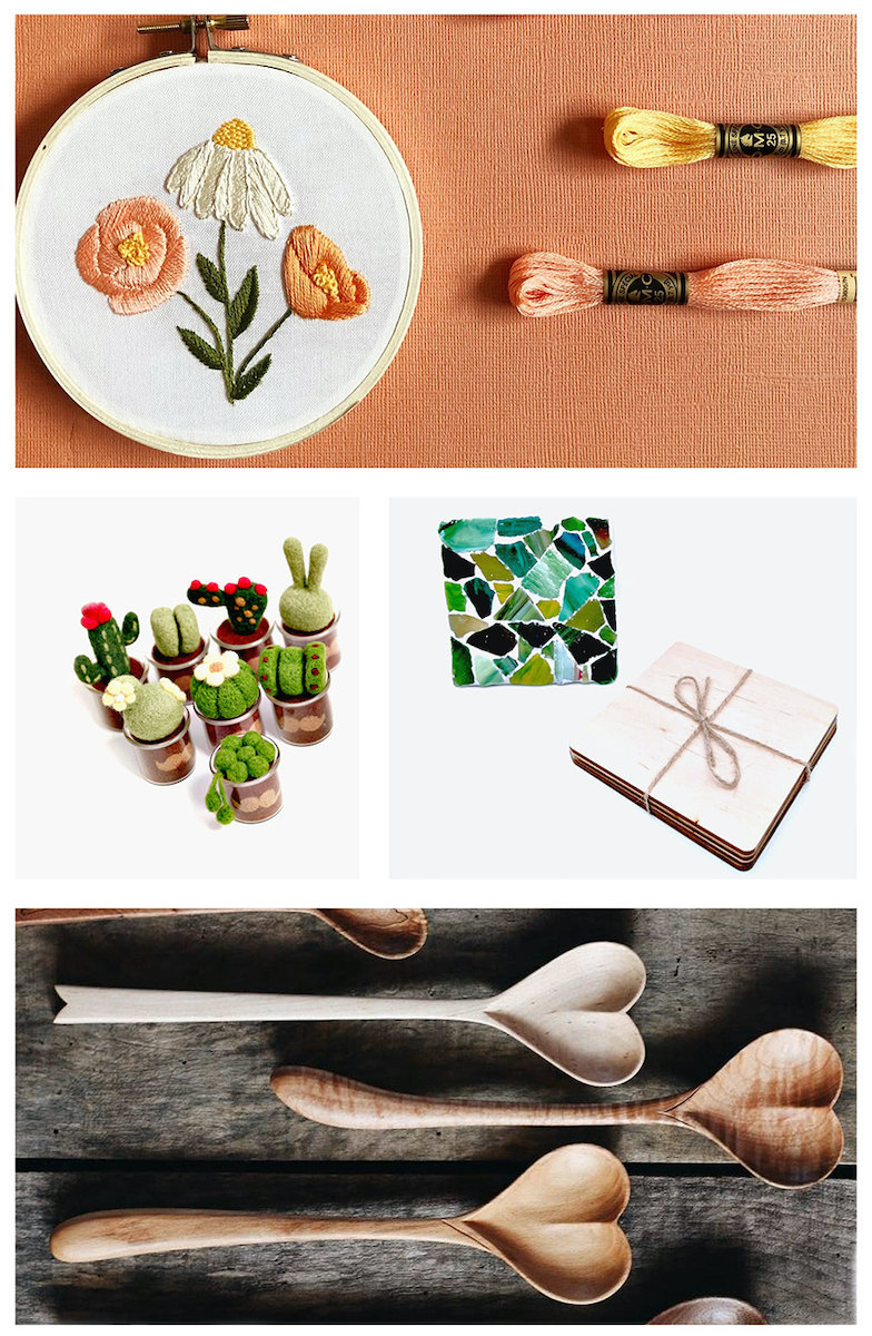 Kid-friendly DIY projects for Mother's Day, from Etsy