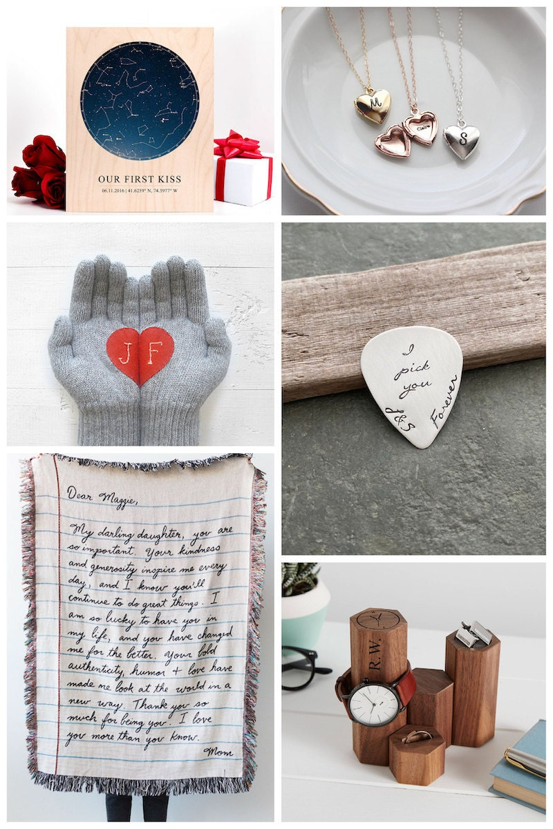 Valentine's Day gifts for significant others from Etsy