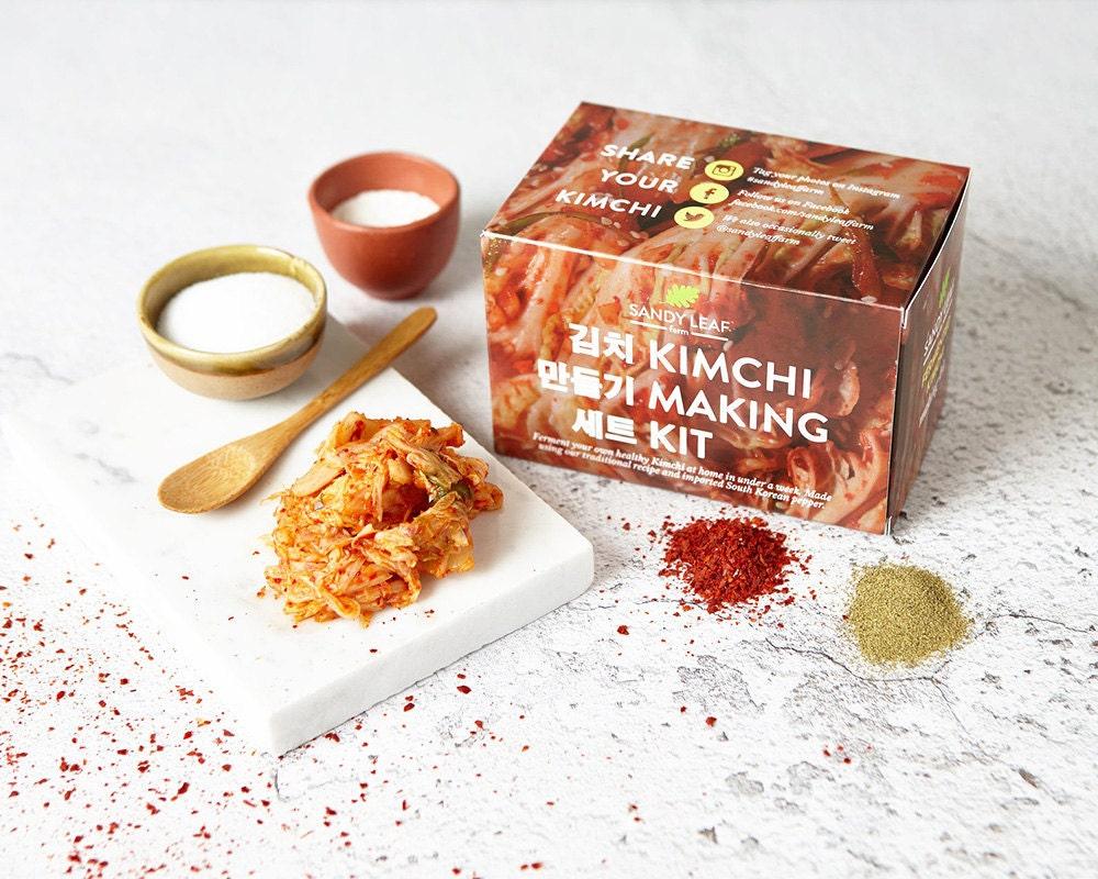A kit to make homemade kimchi