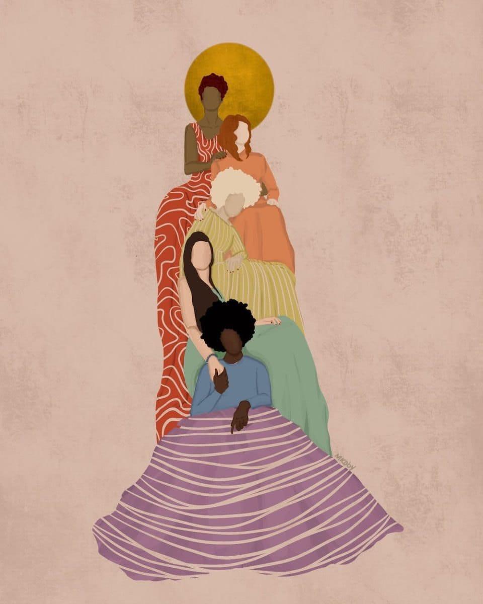"""Built on Pride"" print from M. Koby Art"