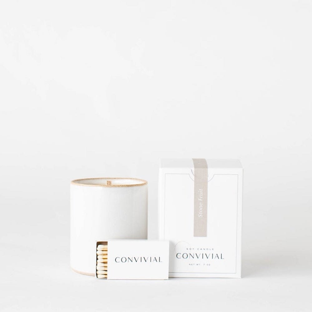 Stone fruit candle from Convivial Production