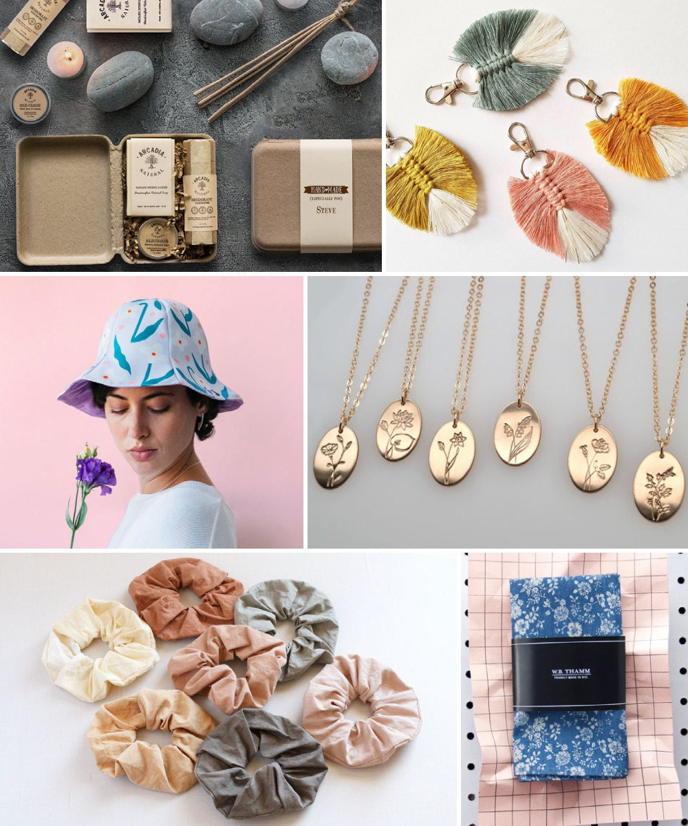 A collage of romantic gift ideas hand-picked for Libra.