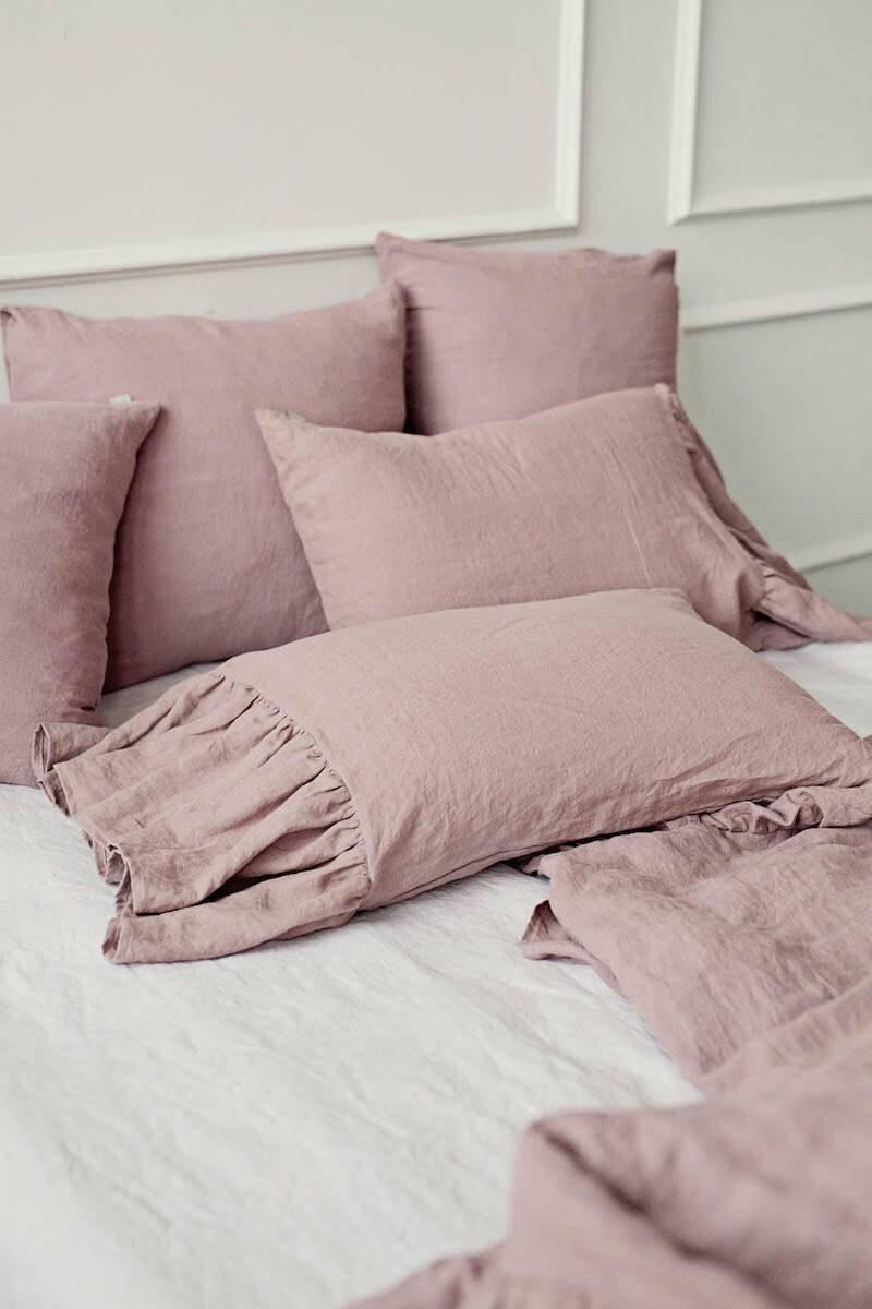 Linen pillowcases from MagicLinen