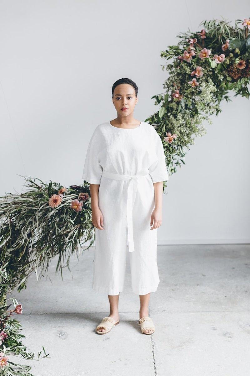 Linen jumpsuit from Linenfox