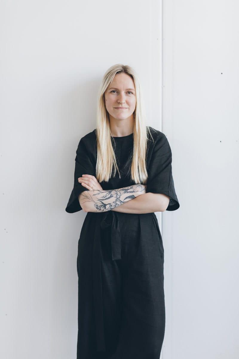 Portrait of Linenfox proprietress Ingrida Margelė