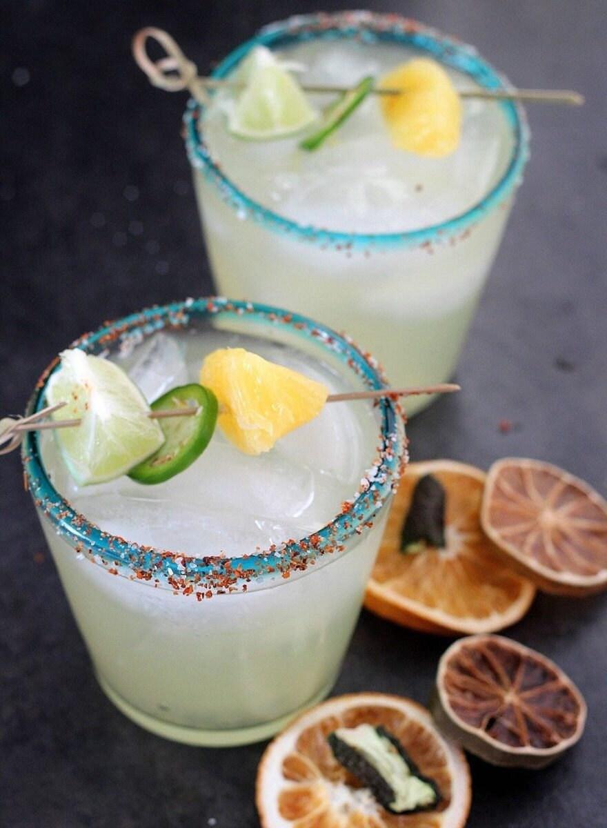 Spicy margarita cocktail kit