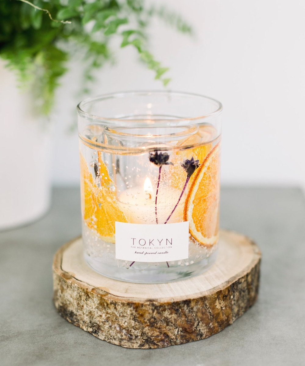 Minabé yuzu citrus candle from Tokyn Candles