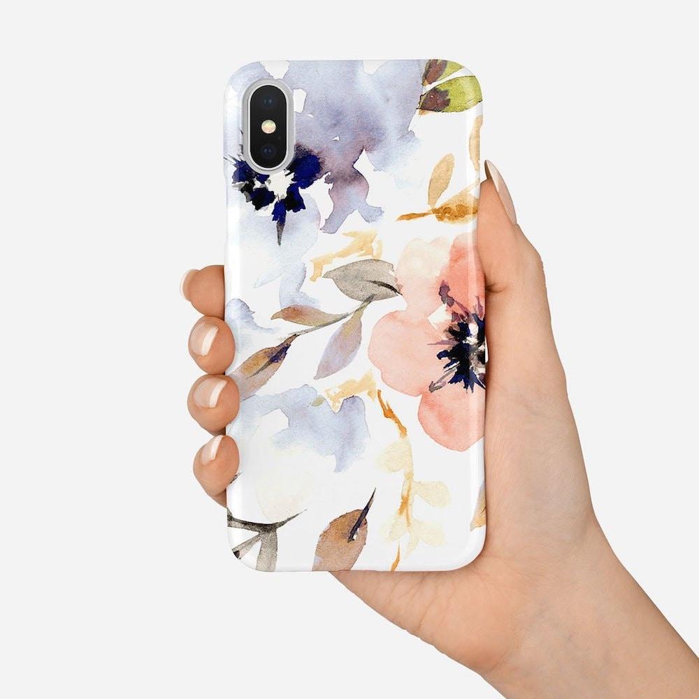 Original illustrated phone case from Senay Studio
