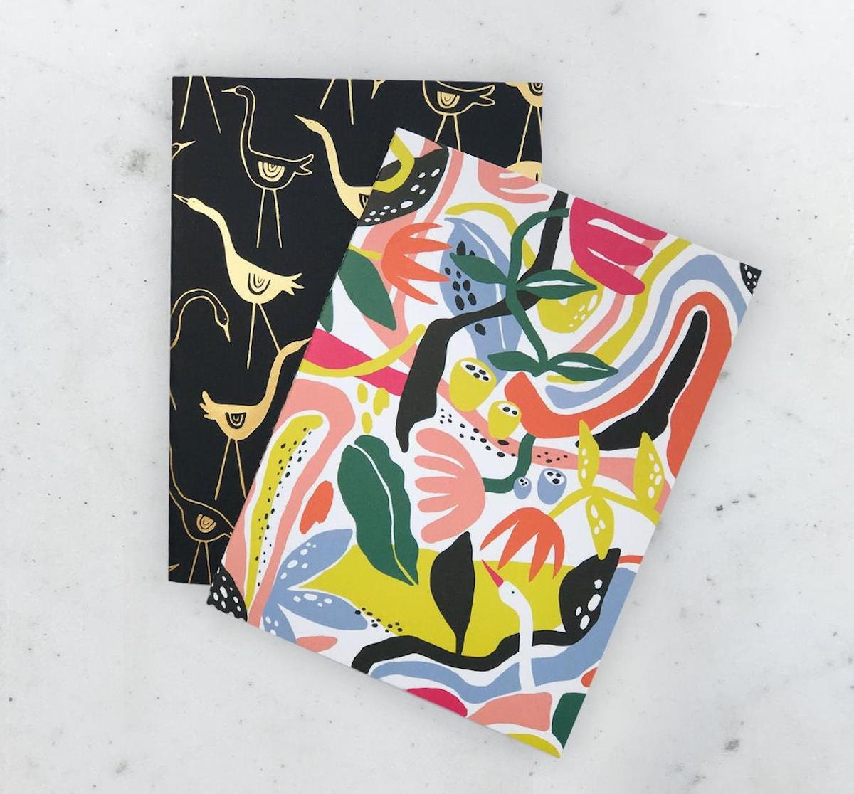 Fantastical garden notebooks from Idlewild Co. on Etsy
