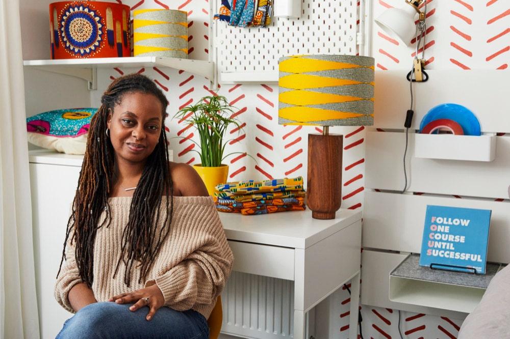 A portrait of Bespoke Binny designer Natalie Manima