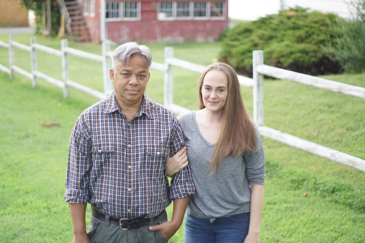 Portrait of GFT Woodcraft founders Sarah and Eddie Gumbrecht
