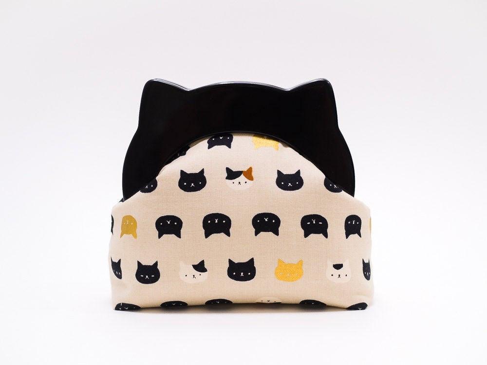 Cat-ear clutch from Boejack Design