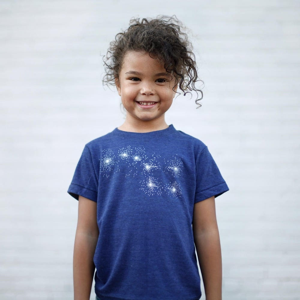 Constellation tee for kids from Etsy