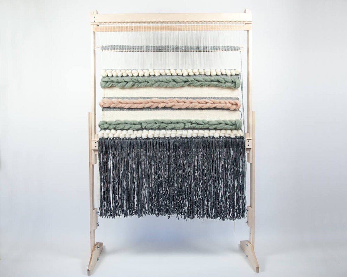 """36"""" adjustable tapestry loom from Oake and Ashe"""