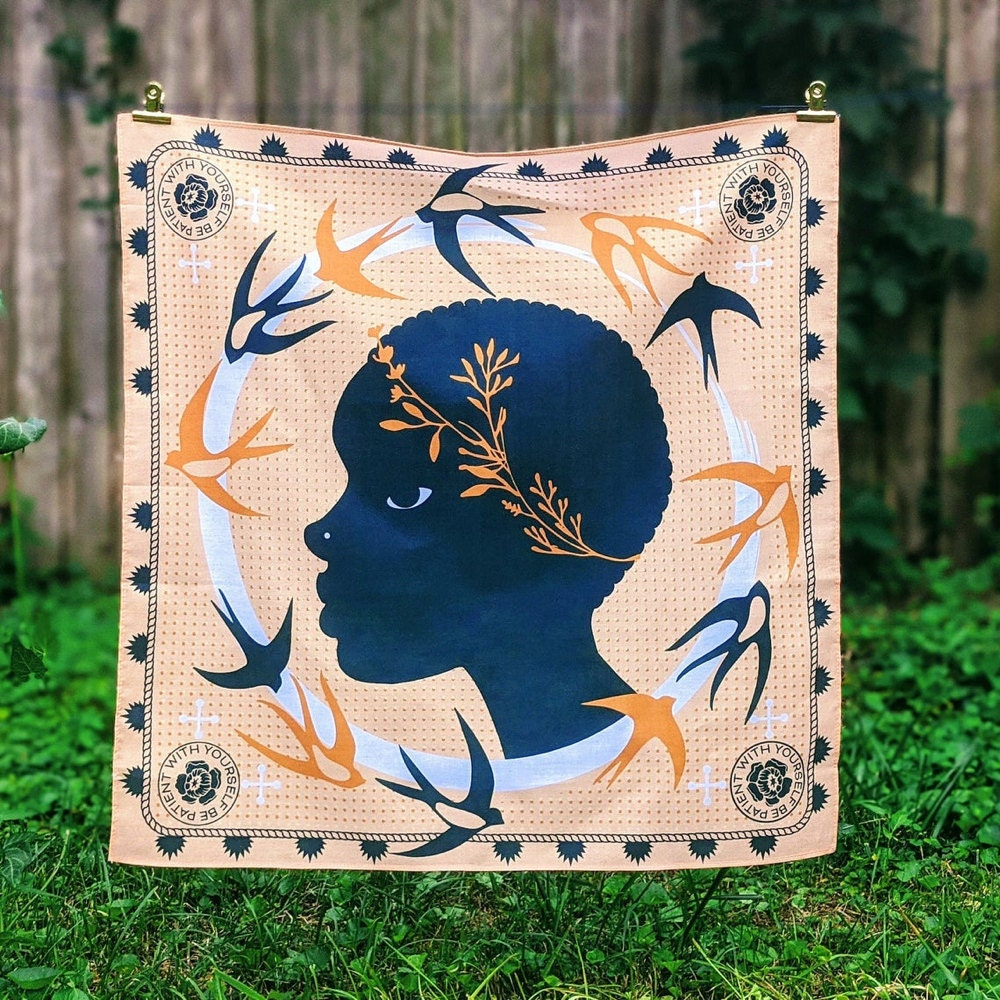 Modern printed bandana from All Very Goods